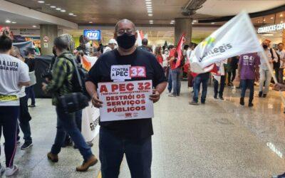 Servidores da Paraíba unem forças e vão a Brasília para ações contra a PEC 32